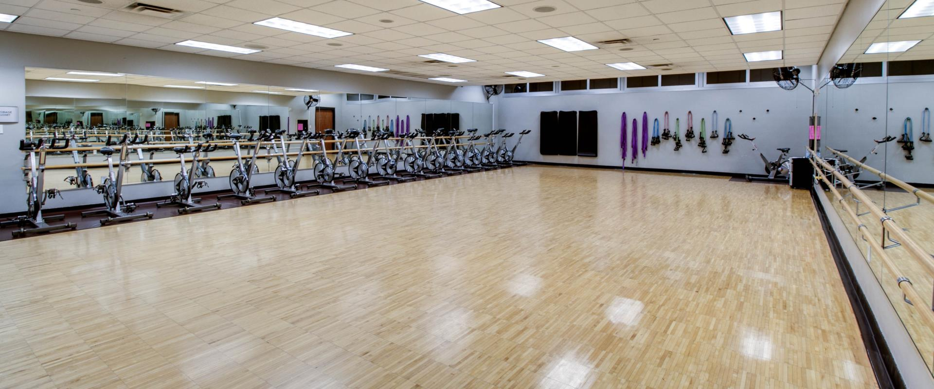 group exercise space