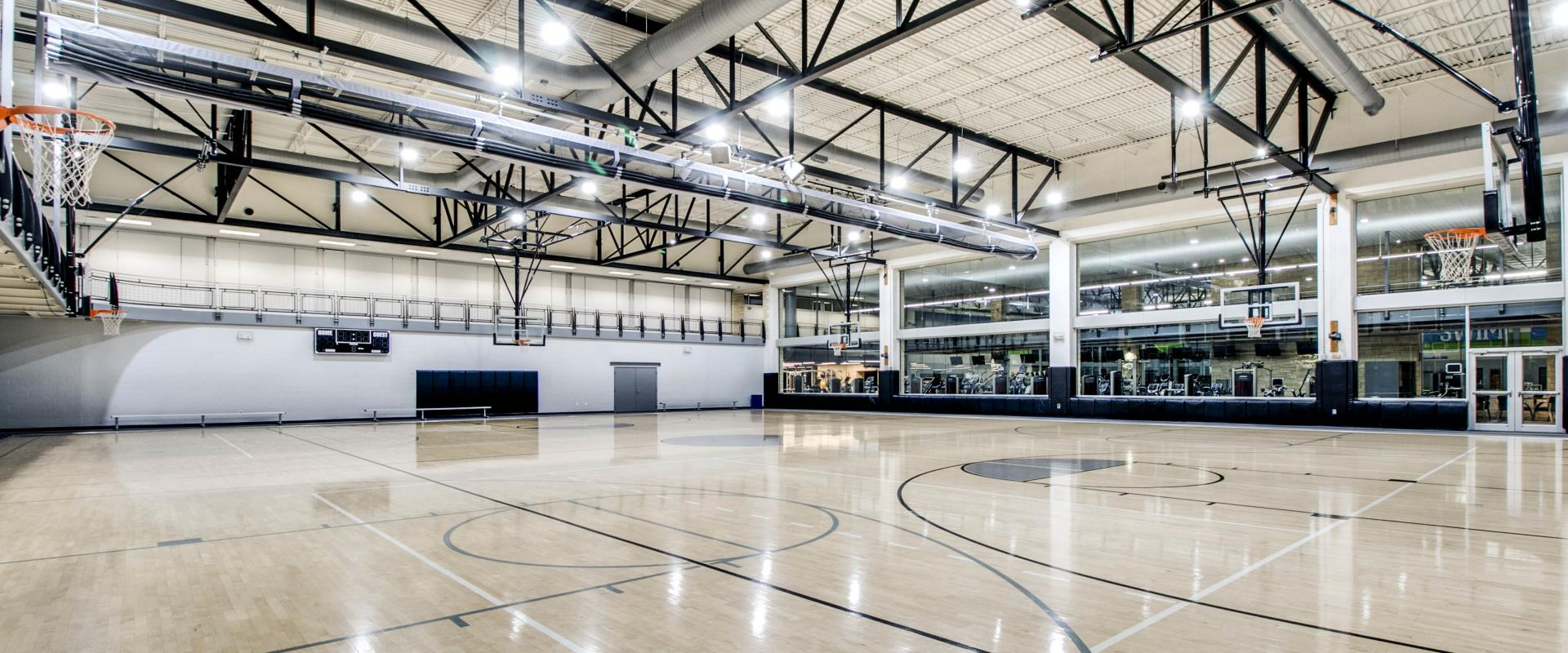 Keller Basketball gym