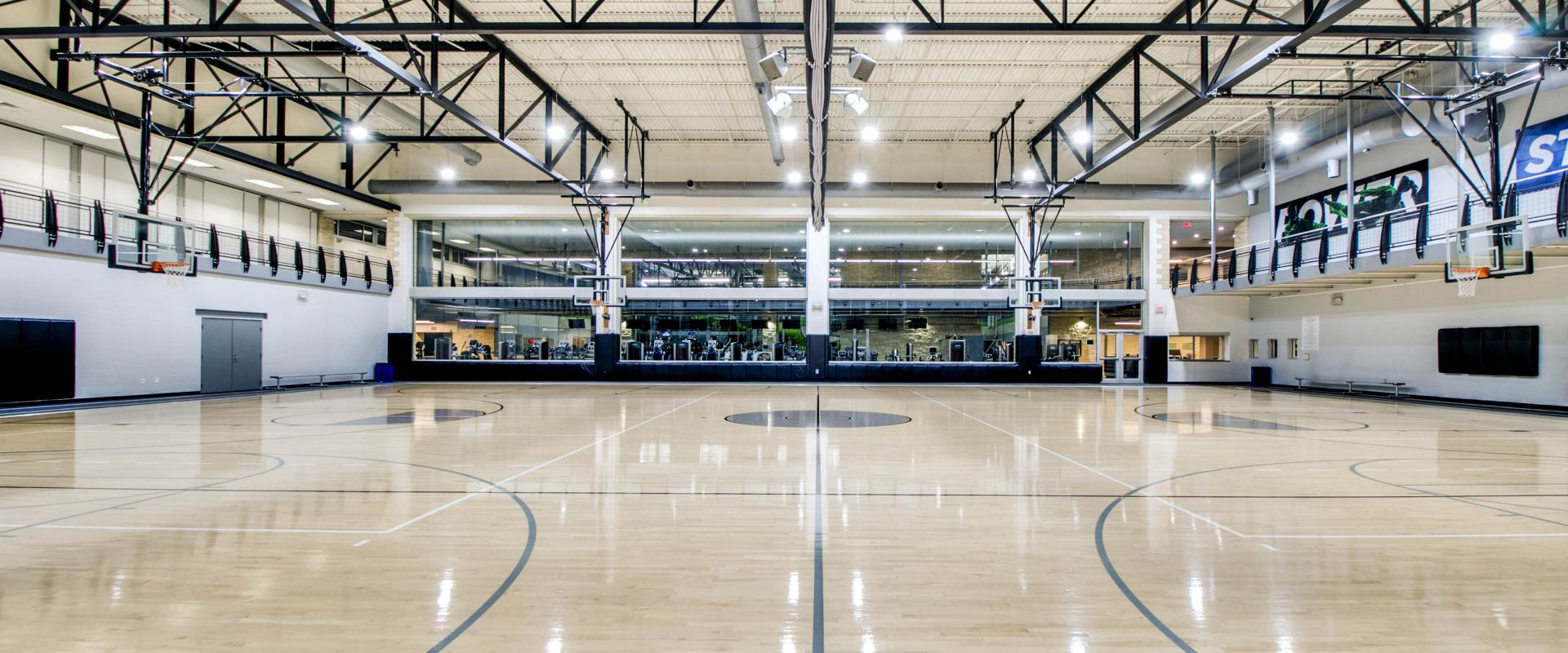 Indoor Basketball Gym